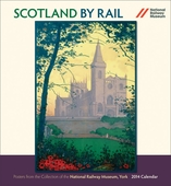 Scotland by Rail 2014 Wall Calendar