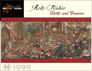 Shoki and Demons 1,000-piece Jigsaw Puzzle