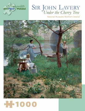 Sir John Lavery: Under the Cherry Tree 1,000-piece Jigsaw Puzzle