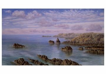 Southern Coast of Guernsey Notecard