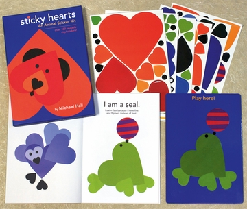 Sticky Hearts: Animal Sticker Kit