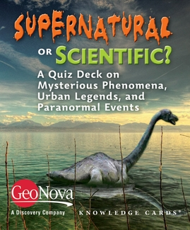 Supernatural or Scientific? A Quiz Deck on Mysterious Phenomena, Urban Legends, and Paranormal Events