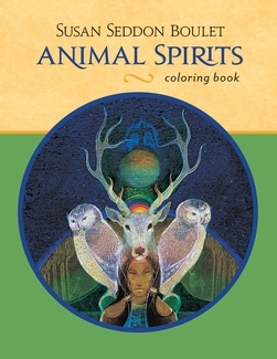 Susan Seddon Boulet: Animal Spirits Coloring Book