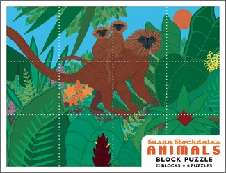 Susan Stockdale's Animals Block Puzzle
