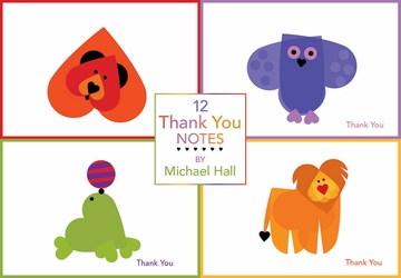 Thank You Notes by Michael Hall Boxed Assortment