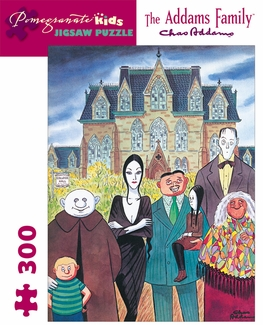 The Addams Family 300-piece Jigsaw Puzzle