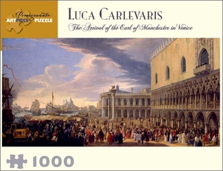 The Arrival of the Earl of Manchester in Venice 1,000-piece Jigsaw Puzzle