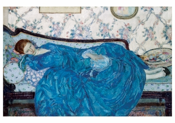 The Blue Gown Notecard
