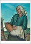 The Country Woman Notecard