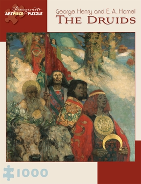 The Druids Bringing in the Mistletoe 1,000-piece Jigsaw Puzzle