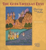The Gods Entreat Devi: Paintings from India 2014 Wall Calendar