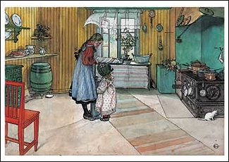 The Kitchen Postcard
