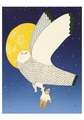 The Owl and the Boy Notecard