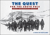 The Quest for the South Pole Book of Postcards