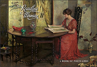 The Reading Woman II Book of Postcards