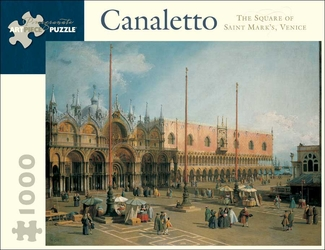 The Square of St. Mark's, Venice 1,000-piece Jigsaw Puzzle