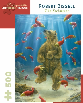 The Swimmer: Robert Bissell 500-piece Jigsaw Puzzle