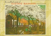The Woodblock Prints of Gustave Baumann Book of Postcards