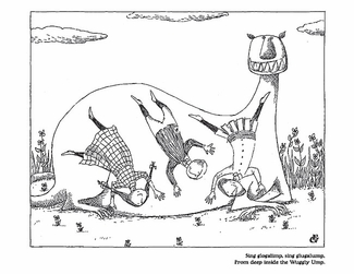 The Wuggly Ump and Other Delights Coloring Book