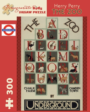 Herry Perry: The Zoo 300-piece Jigsaw Puzzle