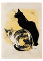 Two Cats Postcard