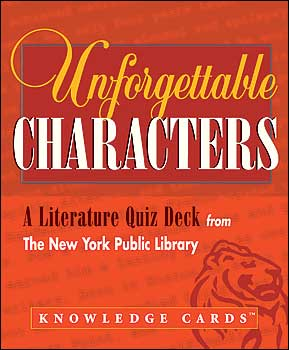 Unforgettable Characters Knowledge Cards