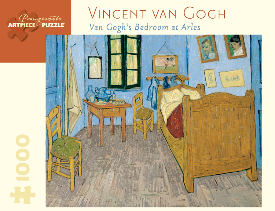 van gogh s bedroom at arles 1 000 piece jigsaw puzzle