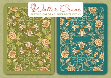 Walter Crane Playing Cards