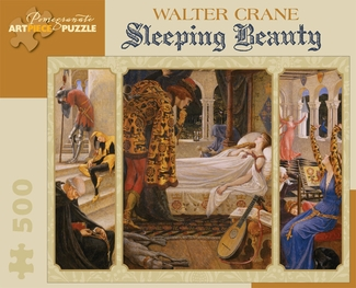 Walter Crane: Sleeping Beauty 500-piece Jigsaw Puzzle