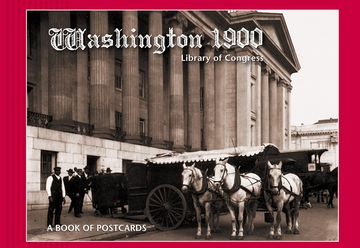 Washington 1900 Book of Postcards