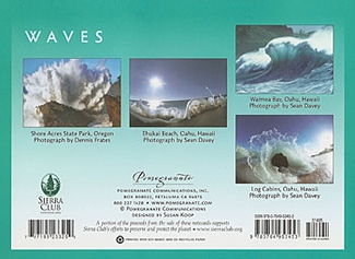 Waves Boxed Notecards
