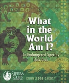What in the World Am I? An Endangered Species Quiz Deck