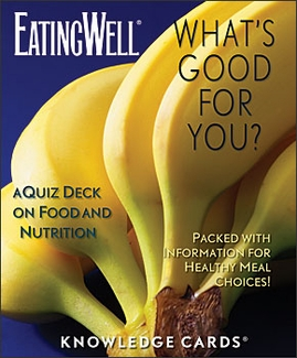 What's Good for You? A Quiz Deck on Food & Nutrition Knowledge Cards