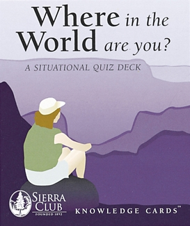 Where in the World Are You? Knowledge Cards