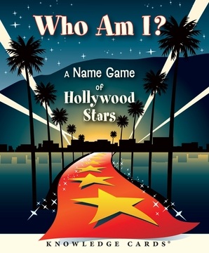 Who Am I? A Name Game of Hollywood Stars Knowledge Cards