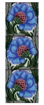 William De Morgan: Tile Designs Panoramic Boxed Notecards