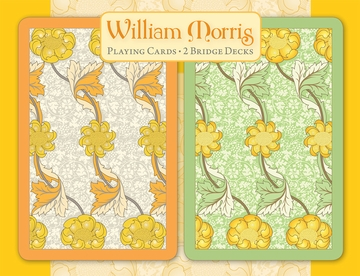 William Morris Bridge Playing Cards