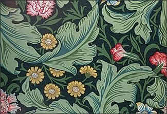 William Morris Leicester Pattern Magnet