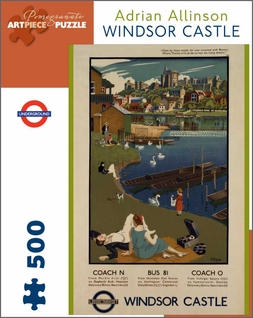Windsor Castle 500-piece Jigsaw Puzzle