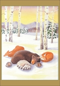Winter Rest Christmas Cards
