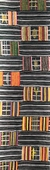 Woman's Kente Cloth Bookmark
