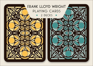 Wright's Moore House Door Design Playing Cards