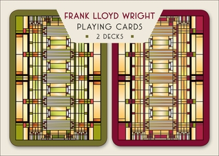 Wright's Oak Park Light Design Playing Cards