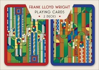 Wright's Saguaro Design Playing Cards