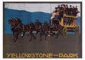 Yellowstone—Park Postcard