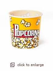 Authentic Movie Night Popcorn Tub - Small