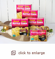 Kettle Corn Popping Kits - 12 Pack