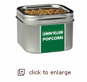 Lemon Yellow Heirloom Popcorn (Organic, Non-GMO)