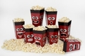 Movie Night Faces 8-Pack Pop-Open Popcorn Tubs