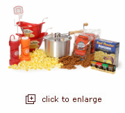 Snack! Shoot! Score! Popcorn Gift Set
